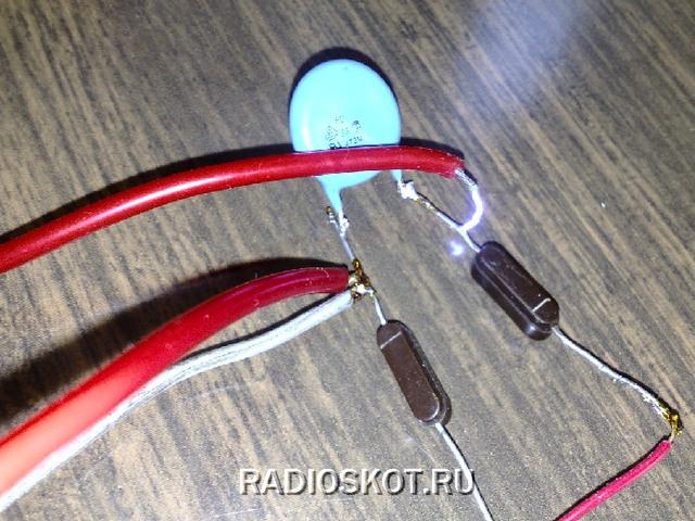 Как сделать электрошокер самая простая схема