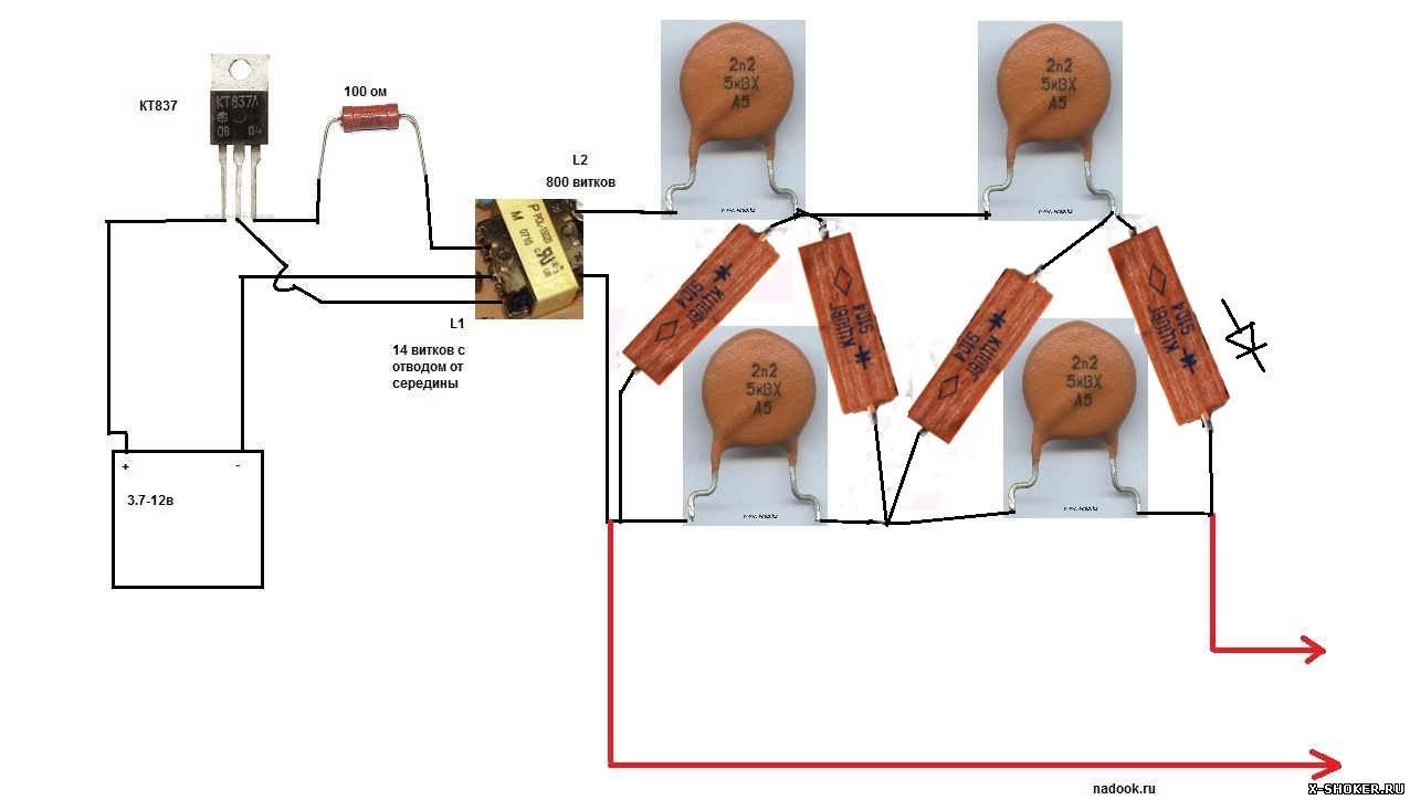 Как сделать мощный электрошокер своими руками