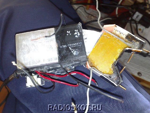 Мощный электрошокер своими руками на 90000 99
