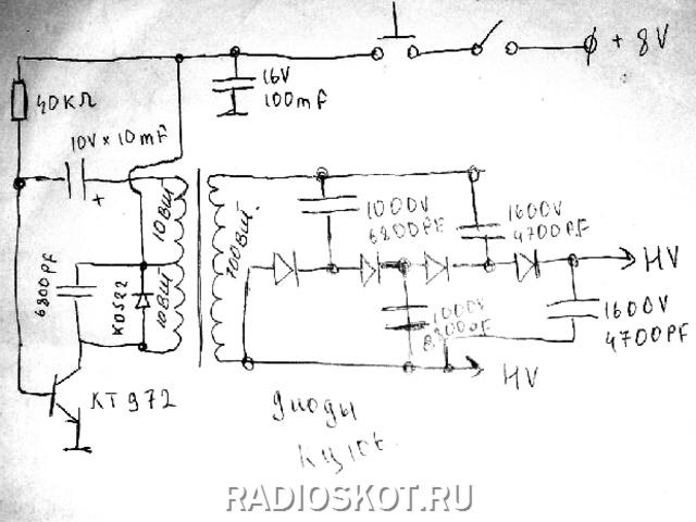 что мощность электрошокера