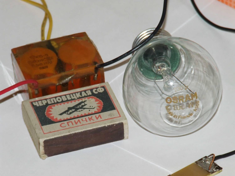 схема простого электрошокера