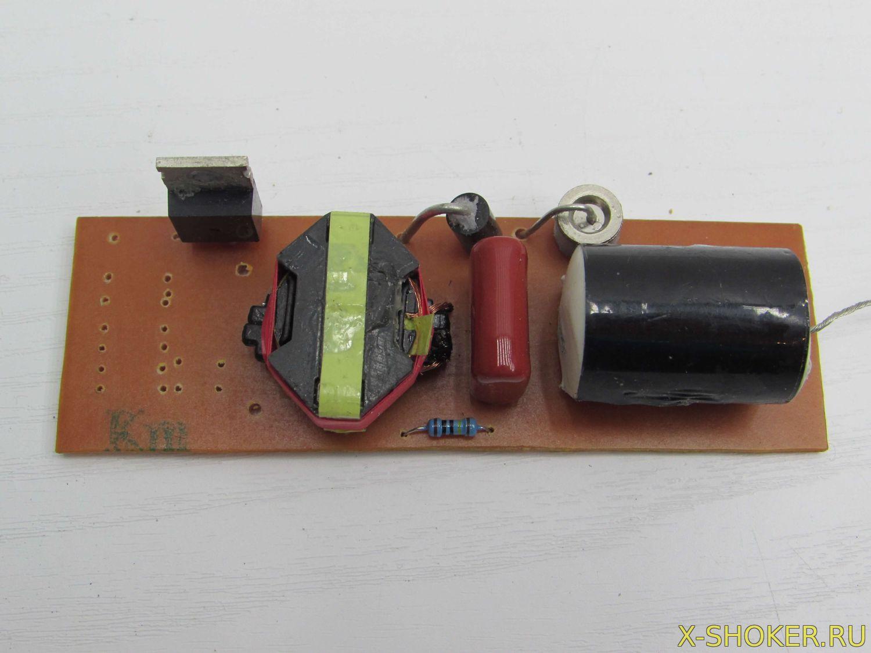 Как из шокера сделать электроудочку 972