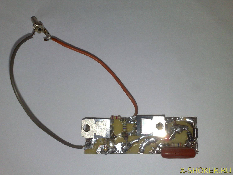 классическая схема электроудочки